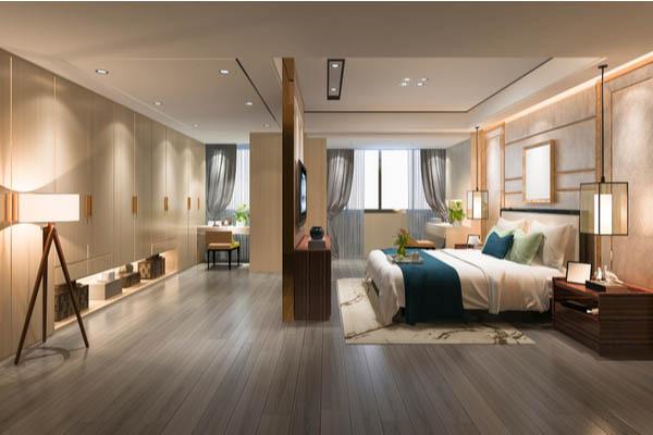 Add ceiling décor