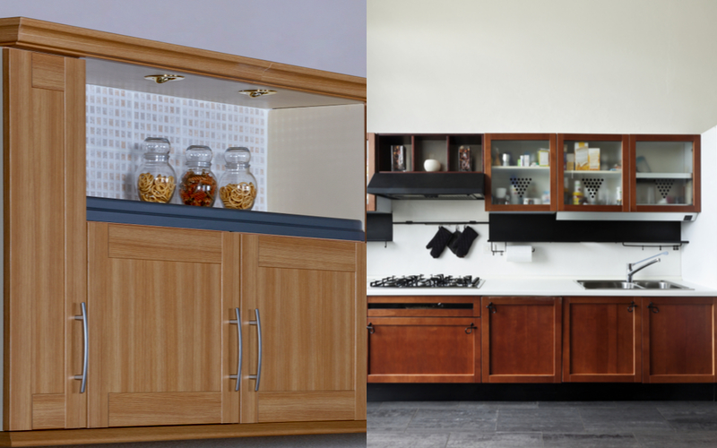 Cons Of Pvc And Wood Kitchen Cabinets, Best Kitchen Cabinet Brands In India