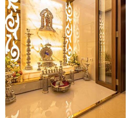 Open Puja room