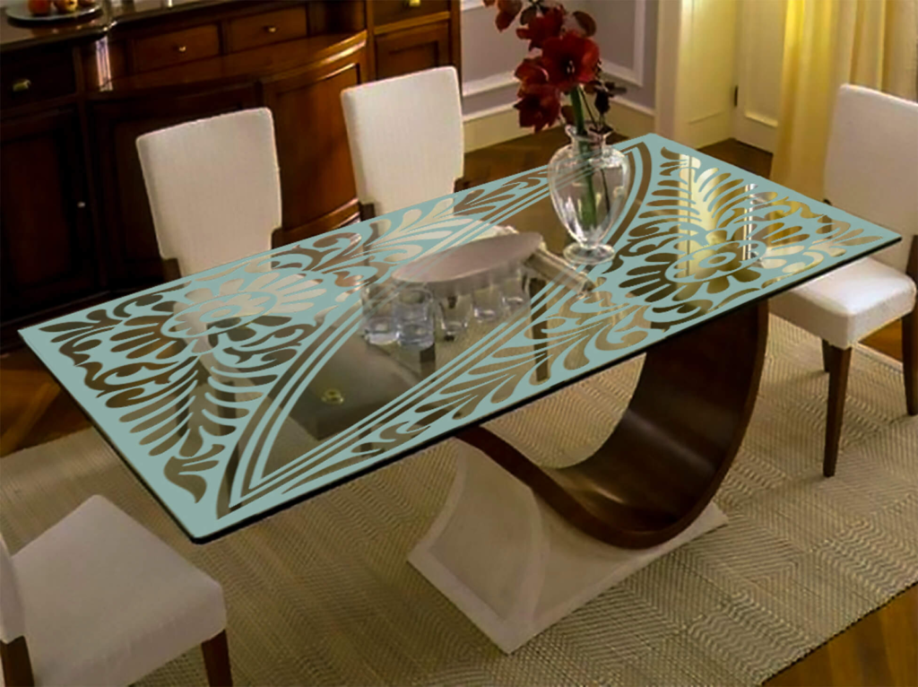 Glass Material For Dining Table