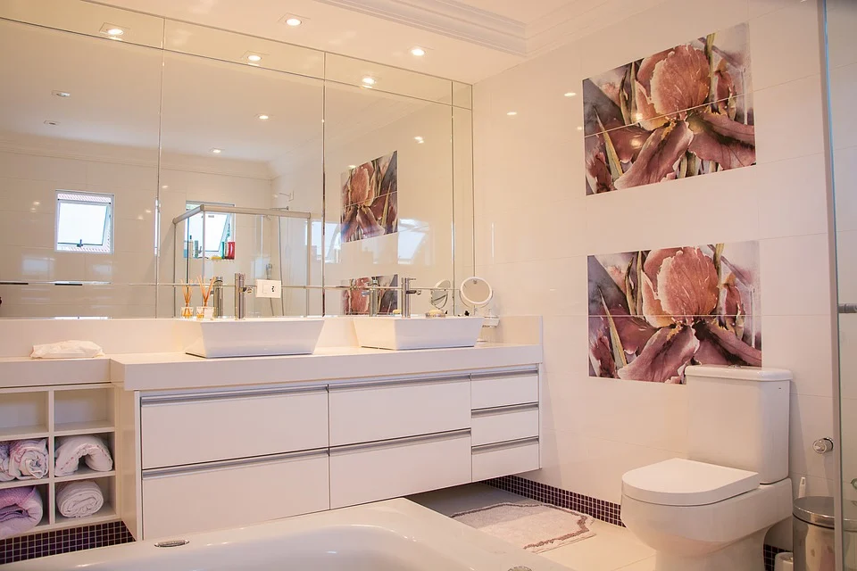 Install a dimmer switch to control vanity lights
