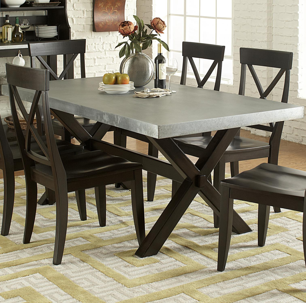 Metal Material For Dining Table