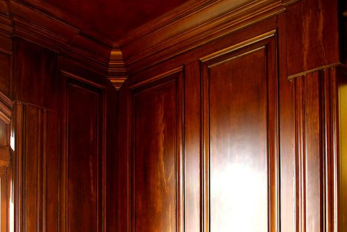 Panelling By Mahogany Wood