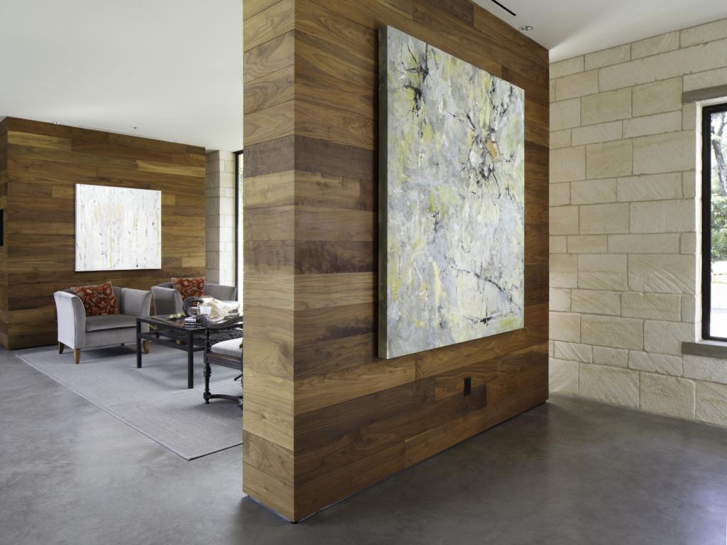Wooden Separating Walls