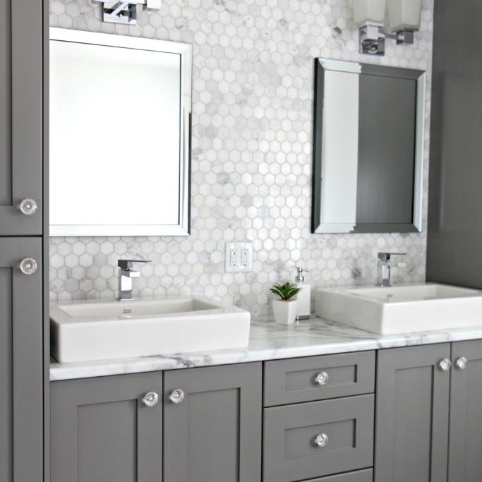 Use White or Grey In Bathroom