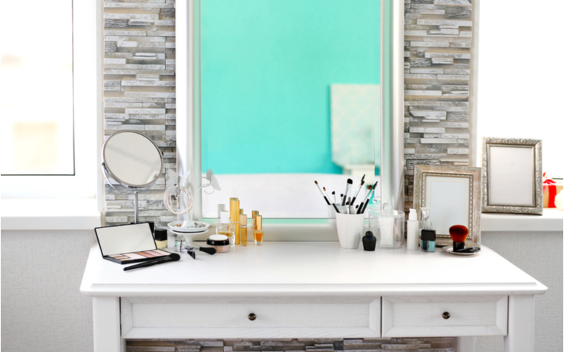 His and Hers Dressing Mirror