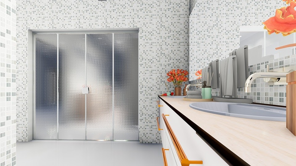 Frosted Glass Panel