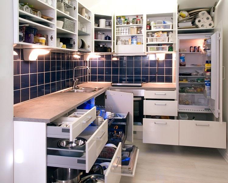 kitchen drawer storage ideas
