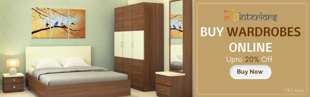 Buy Wardrobes Online in Kolkata