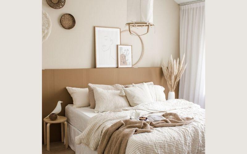 Earthy Tones  Bedroom Color