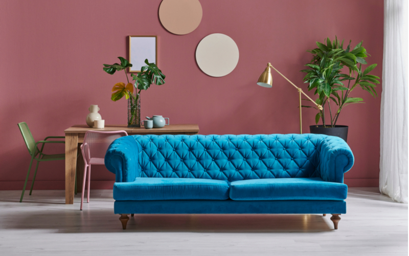 Emerald, Sapphire, and Ruby Living Room