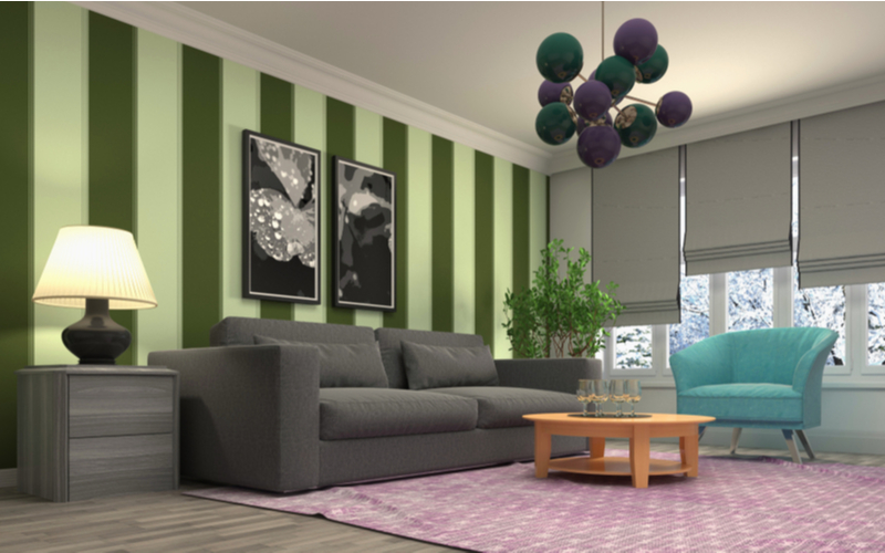 Liveable Green Living Room