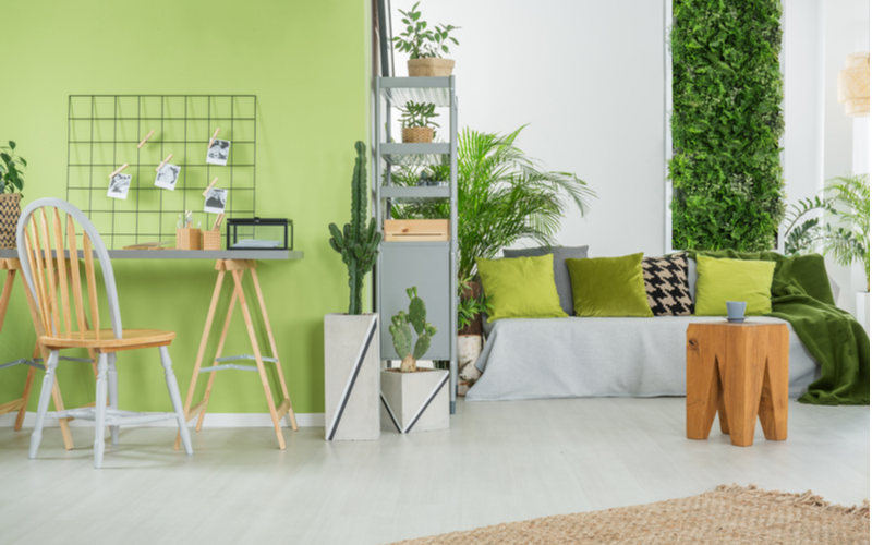 Cascade Green Living Room