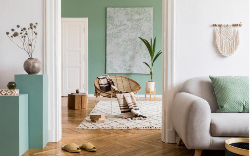 Rookwood Jade Green Living Room