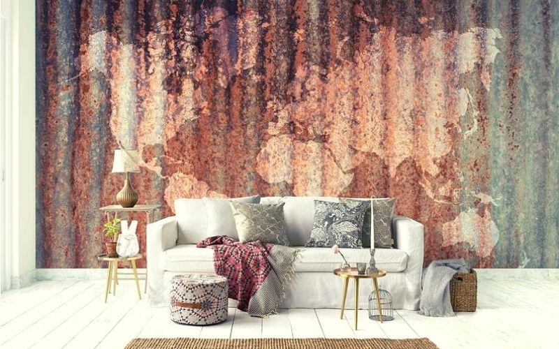 Rust Box Wall Texture