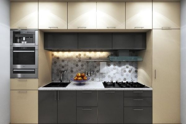 straight modular kitchen catalog with price