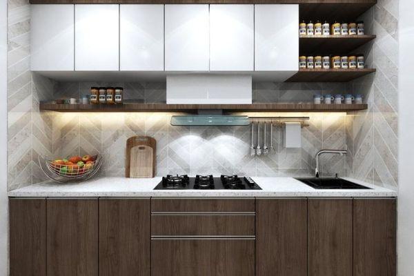 straight modular kitchen price