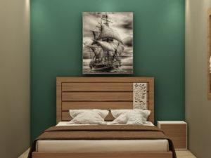 King Size Bed With Headboard – Price - In Kolkata