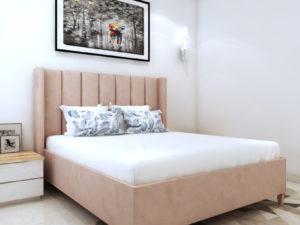 King Size Upholstered Bed - Price - In Kolkata
