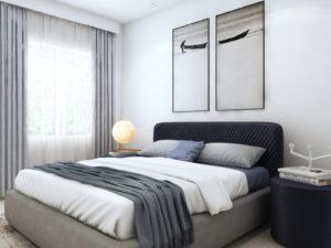 King Size Upholstered Bed - Price- In Kolkata