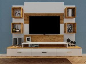 wall mounted tv cabinet in kolkata