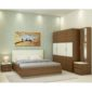 Callum XXL Room Package in Ivory White & Jungle Wood Finish